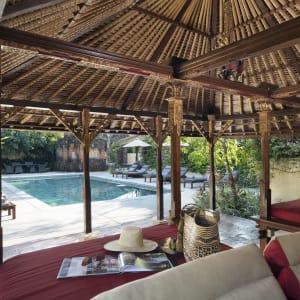 The Pavilions Bali in Südbali: Main Pool Sala