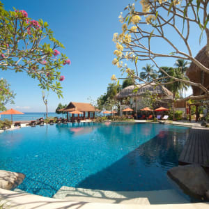 Sudamala Suites & Villas Lombok: Outdoor Area - Main Swimming Pool