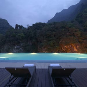 Silks Place Taroko:  Outdoor Swimming Pool