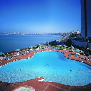 Trident Nariman Point à Mumbai: Outside Pool