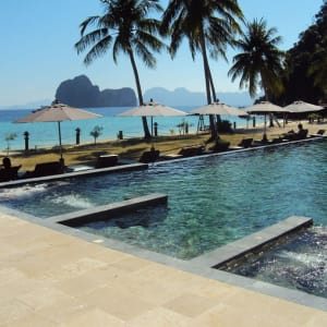 Thanya Resort in Ko Ngai: Pool
