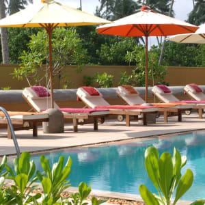Aditya Resort à Hikkaduwa: Pool
