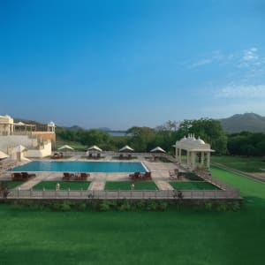 Trident in Udaipur: Pool
