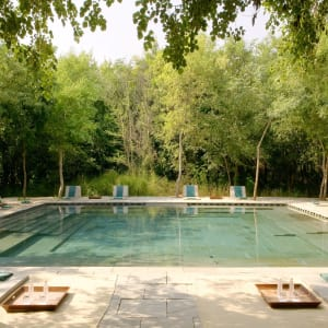 Aman-i-Khas in Ranthambore: Pool