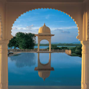 The Oberoi Udaivilas in Udaipur: Pool