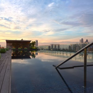Jen Orchardgateway in Singapur: Pool