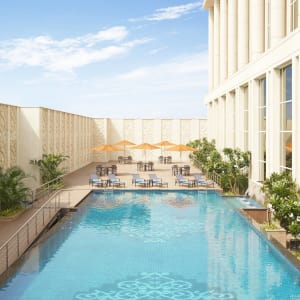 Taj Santacruz in Mumbai: Pool