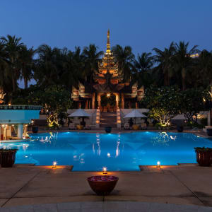Mercure Mandalay Hill Resort: Pool