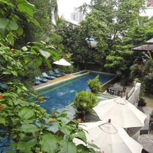 Ariyasom Villa in Bangkok: pool area
