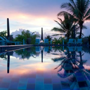 La Veranda Resort in Phu Quoc: Pool at nighttime