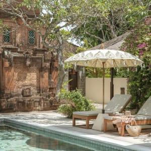 The Pavilions Bali in Südbali: pool Detail