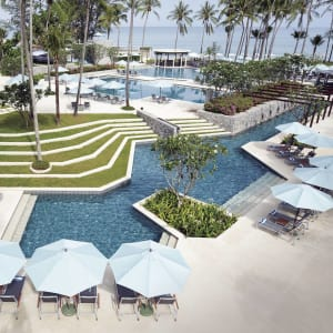 Outrigger Laguna Phuket Beach Resort: Pool Edgewater
