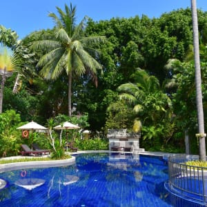 Paradise Beach Resort in Ko Samui: Pool Garden