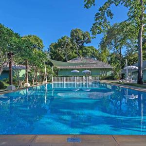 Sai Kaew Beach Resort à Ko Samed: Pool Hide-Zone