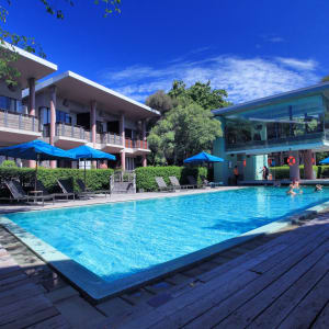 Sai Kaew Beach Resort in Ko Samed: Pool Hub-Zone