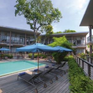 Sai Kaew Beach Resort à Ko Samed: Pool Hub-Zone