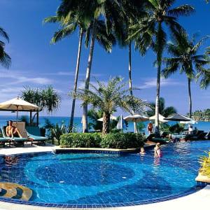 D'île en île dans le golfe de Thaïlande en individuel de Ko Chang: pool: Pool Ko Chang Paradise