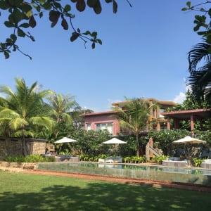 Knai Bang Chatt in Kep:  Pool & Red House