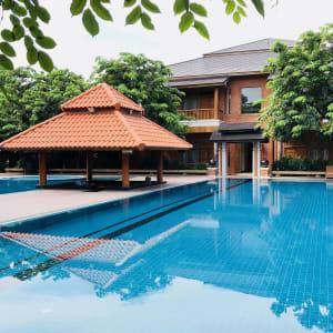Rupar Mandalar in Mandalay:  Pool Side