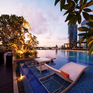 The Fullerton Bay à Singapour: Rooftop Infinity Pool