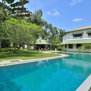 Horathapola Coconut Estate in Yakvila: salt water swimming pool