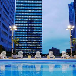 Keio Plaza à Tokyo: Sky Pool