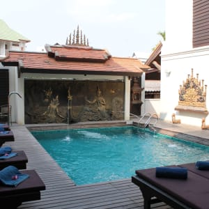 De Naga in Chiang Mai: Spa Pool