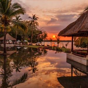 The Oberoi Beach Resort, Lombok:  Sunset