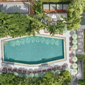 Mandarin Oriental in Bangkok: Swimming Pool