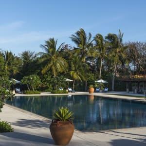 Amanpulo in Palawan: Swimming Pool