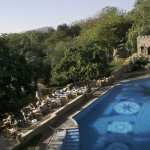 The Ajit Bhawan in Jodhpur: swimming pool