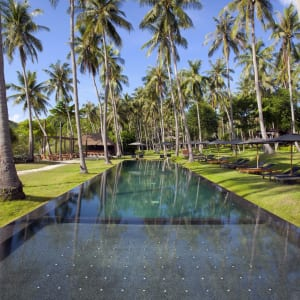 The Haad Tien Beach Resort in Ko Tao: Swimming Pool