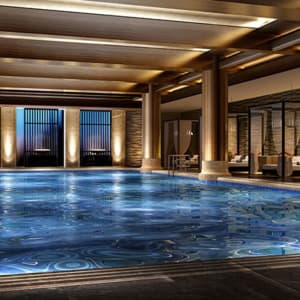 Hyatt Regency à Xian: Swimming Pool