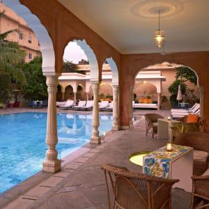 Samode Haveli in Jaipur: Swimming pool
