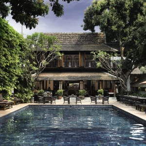 Tamarind Village in Chiang Mai: Swimming Pool+Ruen T