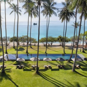 The Haad Tien Beach Resort in Ko Tao: Swimming Pool (The Haad Tien Beach Resort)