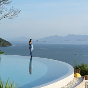 Six Senses Yao Noi in Ko Yao:  The Hilltop Pool