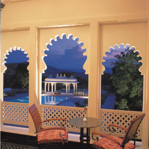 Trident à Udaipur: View from terrace