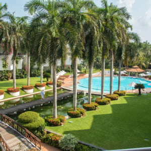 Lanka Princess in Beruwela: View Pool and Garden