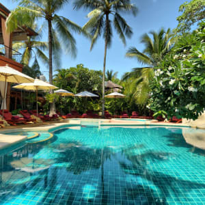 Zazen Boutique Resort & Spa in Ko Samui: Zazen's pool view