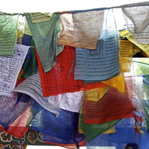 Bhutan - Land und Legenden ab Paro: Prayer flags