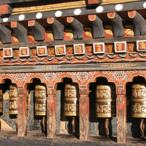 Circuit Amankora de Paro: Prayer Wheels