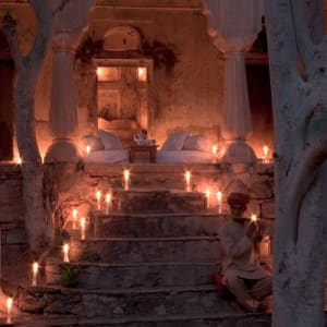 Aman Geniesser-Reise ab Jaipur: Private dining