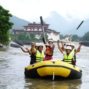 Découverte active du Bhoutan de Paro: Punakha Rafting