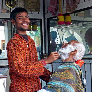 Höhepunkte Rajasthans ab Delhi: Rajasthan: Barber