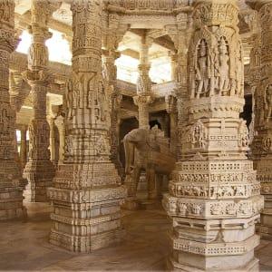 Indien für Geniesser ab Delhi: Ranakpur: Jain Temple