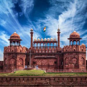 «The Deccan Odyssey» - L'éclat du Rajasthan de Mumbai: Red Fort (Lal Qila) Delhi