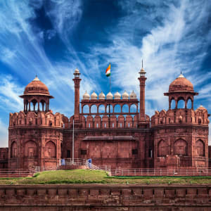«The Deccan Odyssey» - Die Glanzlichter Rajasthans ab Mumbai: Red Fort (Lal Qila) Delhi