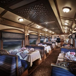 «The Deccan Odyssey» - Die Glanzlichter Rajasthans ab Mumbai: Restaurant