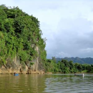 River Kwai Soft Adventure & Expérience avec les éléphants de Bangkok: River Kwai: canoeing